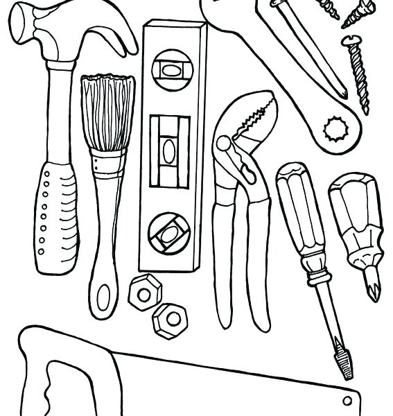 567x600 Construction Coloring Pages With Construction Coloring Pages
