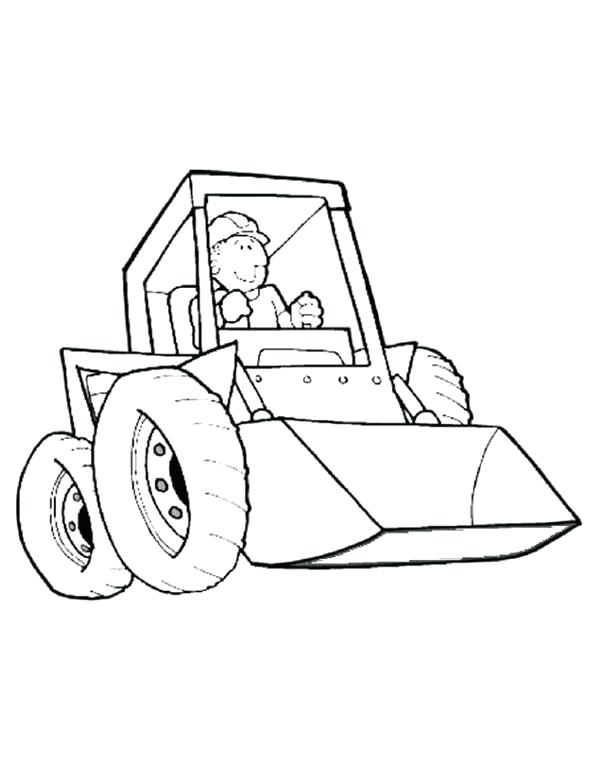 600x776 Construction Equipment Coloring Pages Construction Work Equipment