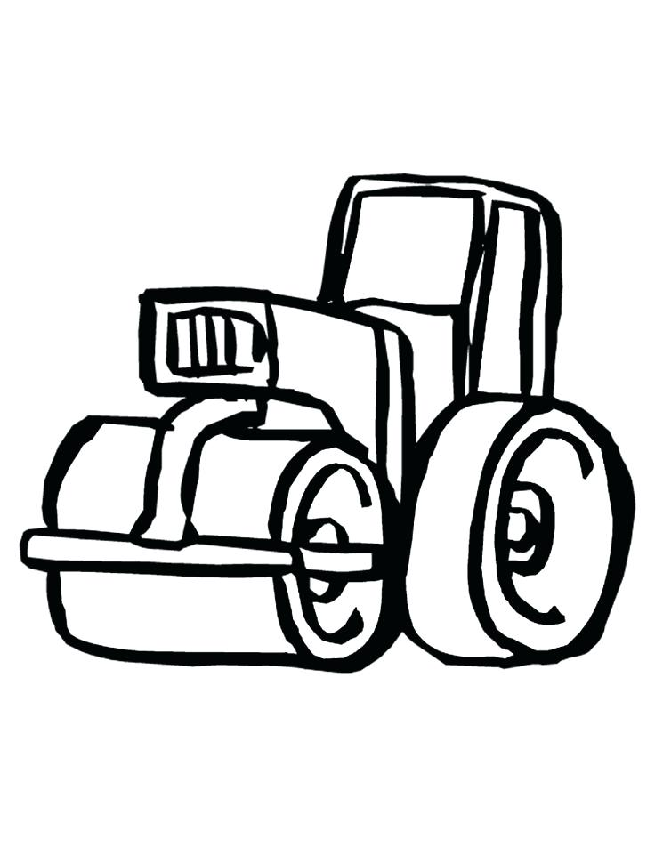 736x952 Construction Equipment Coloring Pages Free Printable Construction