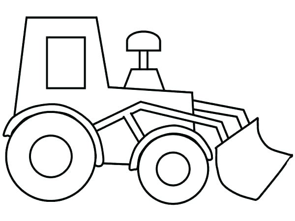 600x450 Bulldozer Coloring Pages Construction Equipment Coloring Pages