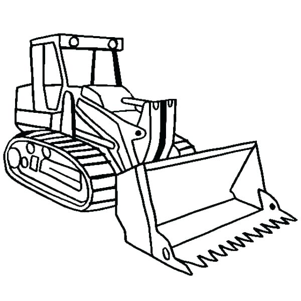 600x600 Bulldozer Monster Truck Coloring Pages Construction Icle Beautiful