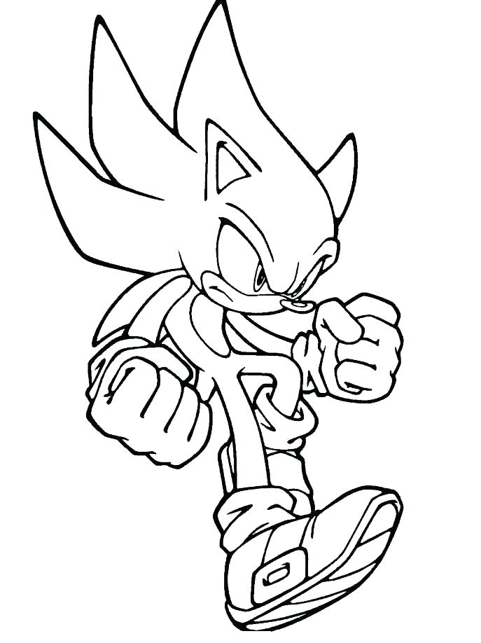 687x918 Sonic Coloring Books Sonic The Hedgehog Coloring Pages Sonic