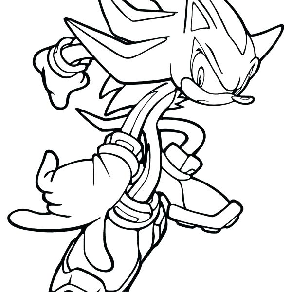 600x600 Sonic Coloring Page Sonic Coloring Pages As Well As Sonic Coloring
