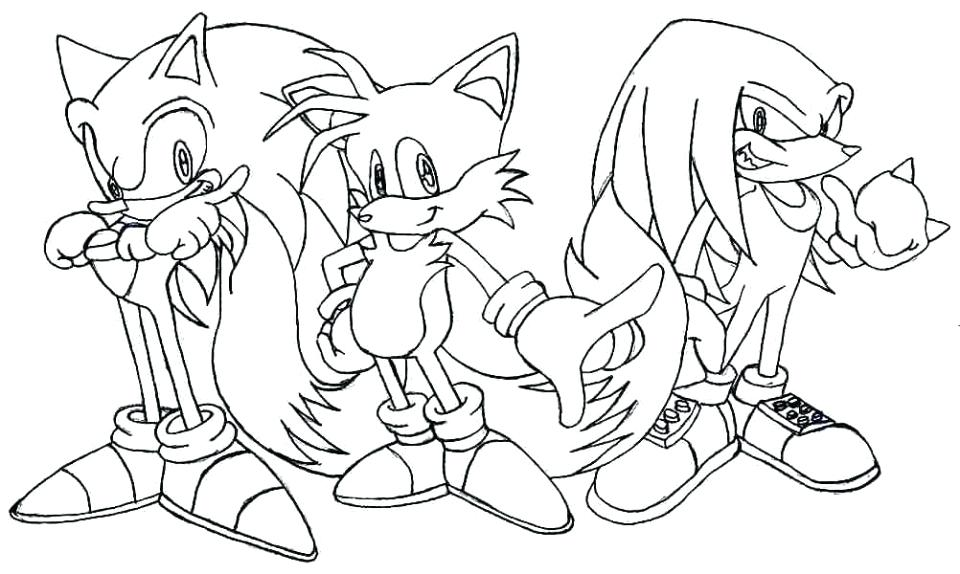 960x574 Sonic Coloring Pages To Print Sonic The Hedgehog Coloring Pages