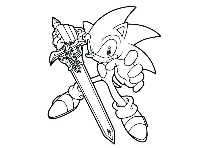 700x500 Sonic The Hedgehog Coloring Pages Sonic Coloring Pages Printable