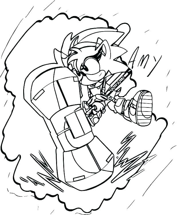618x750 Free Sonic Coloring Pages Sonic Hedgehog Coloring Pages Sonic