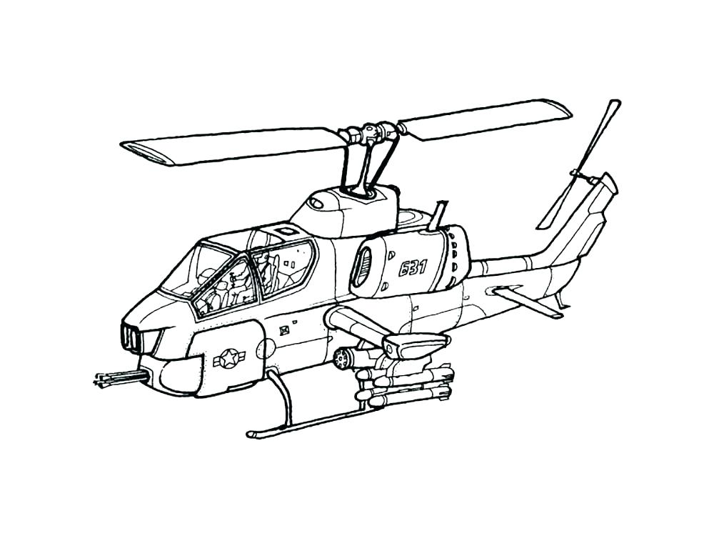1000x750 Helicopter Coloring Page Helicopter Coloring Page Helicopter