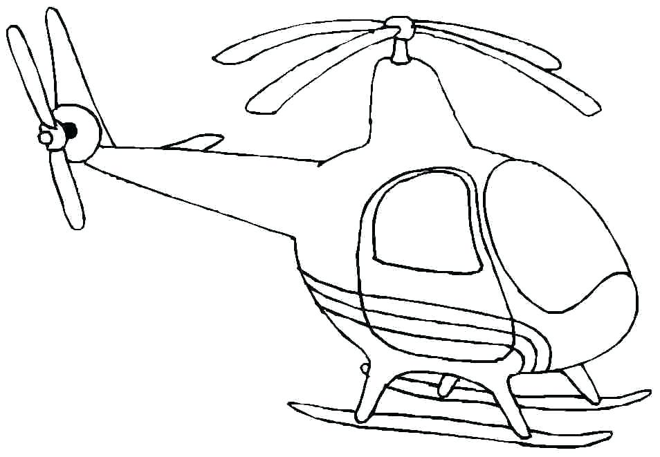 954x661 Helicopter Coloring Pages Police Coloring Pictures Great Police
