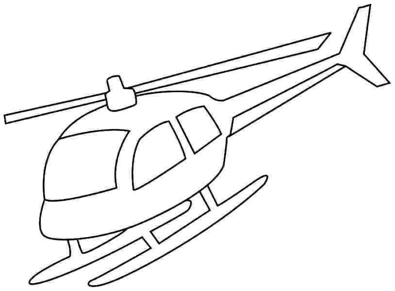 814x600 Helicopter Coloring Pages Helicopter Coloring Page Helicopter