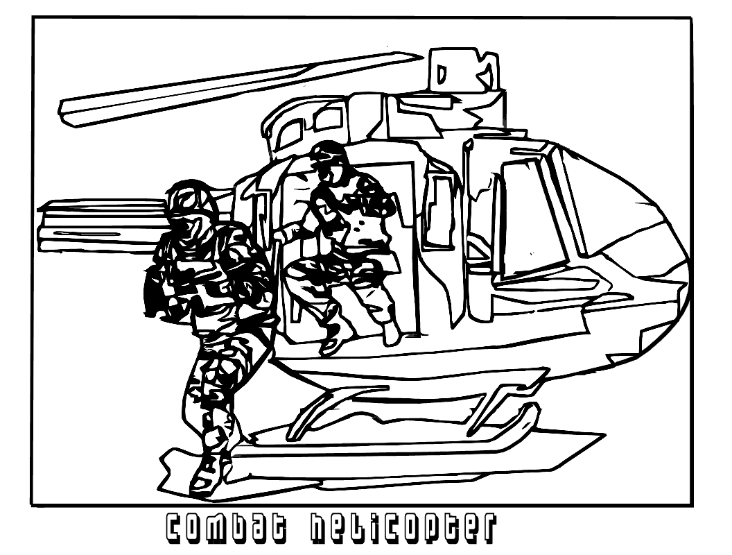 1056x800 Helicopter Coloring Pages To Print Best For Kids Army Realistic