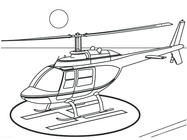 600x450 Helicopter Coloring Pictures Printable Coloring Helicopters Land