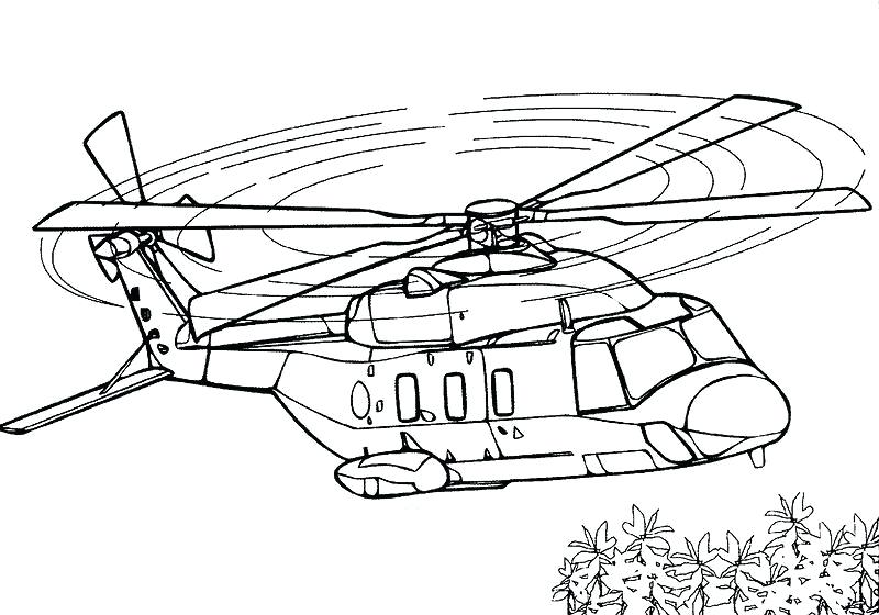 800x560 Planes Coloring Pages Helicopter Colouring Pages Printable Army