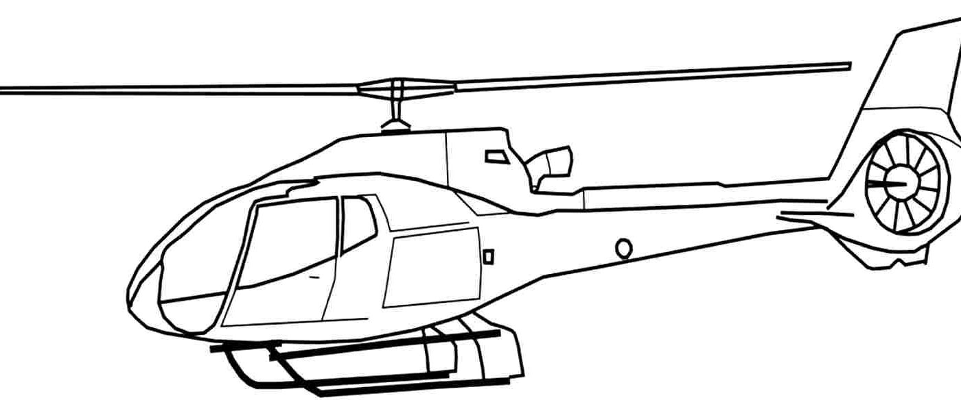 1400x600 Fresh Helicopter Coloring Pages Gallery Best For Kids Printable