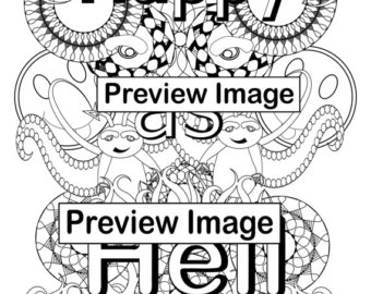 Hell Coloring Pages