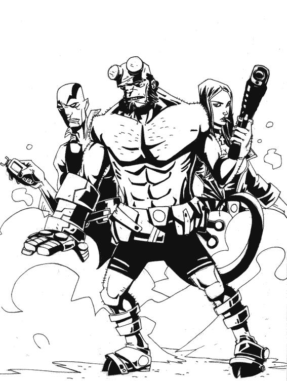 567x752 Hellboy