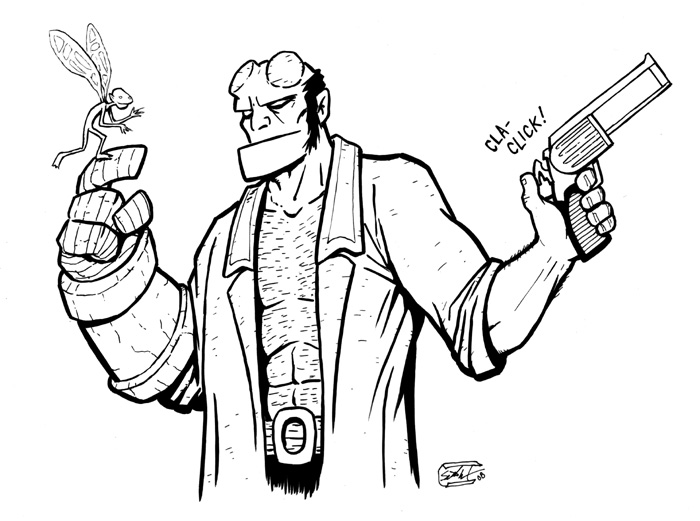 700x521 Hellboy And A Tooth Fairy
