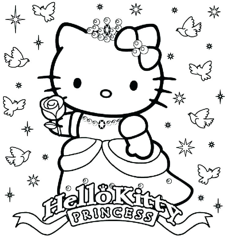 736x788 Hello Kitty And Friends Colouring Pages Printable Coloring Color