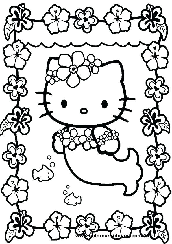 595x842 Hello Kitty Friends Coloring Pages Printable Drawings Colouring