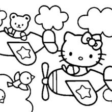 220x220 Hello Kitty And Friends Coloring Pages