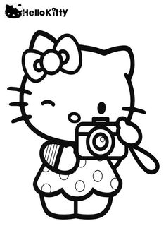 236x330 Hello Kitty Coloring Pages Roller Skating Hello
