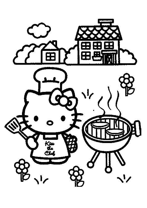 595x842 Best Coloring Hello Kitty Images On Hello Kitty