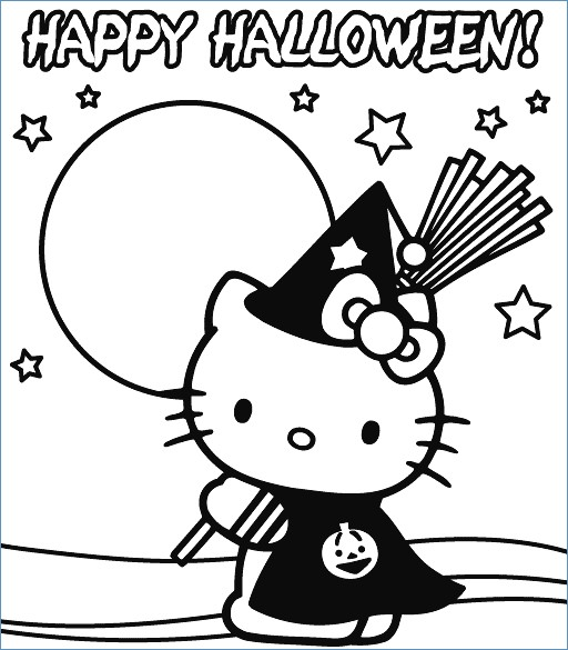 512x585 Hello Kitty On The Beach Coloring Page