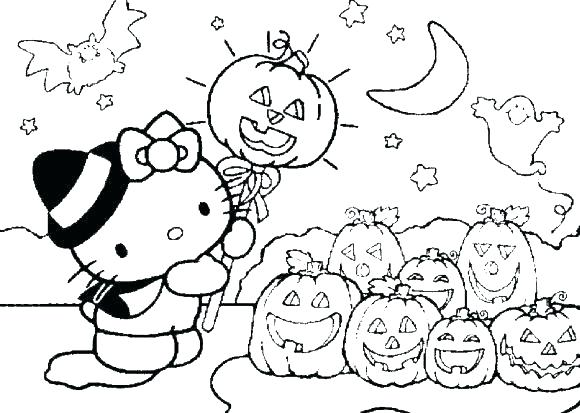 580x413 Hello Kitty Summer Coloring Pages Mermaid Cute Page Princess C