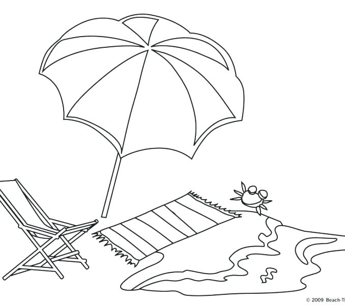 678x600 On His Sunbathing Session On The Beach Coloring Page On His