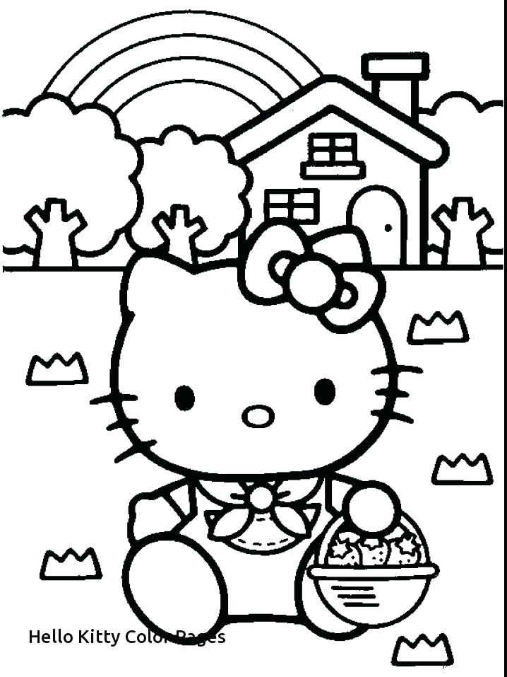 718x957 Breakfast Coloring Page Kitty Coloring Pictures Free Coloring