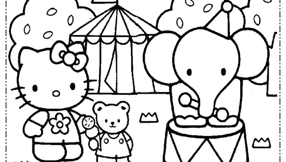 960x544 Hello Kitty Birthday Coloring Page Free Printable Hello Kitty