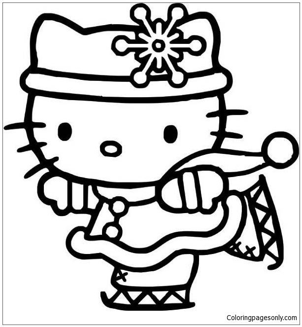 613x663 Beautiful Pics Of Hello Kitty Coloring Page Coloring Pages