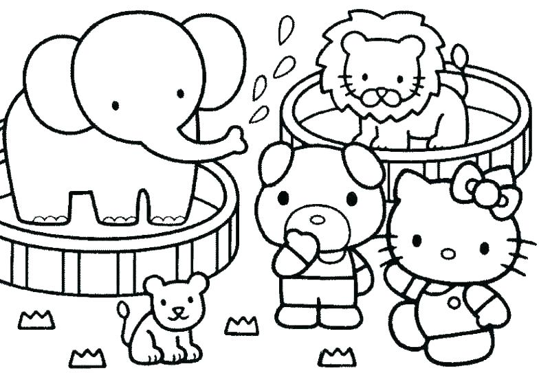 784x543 Hello Kitty Birthday Coloring Pages Kids Coloring Hello Kitty