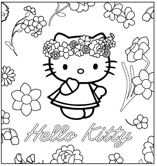 519x549 Cartoons Coloring Pages Printable Coloring Pages Hello Kitty