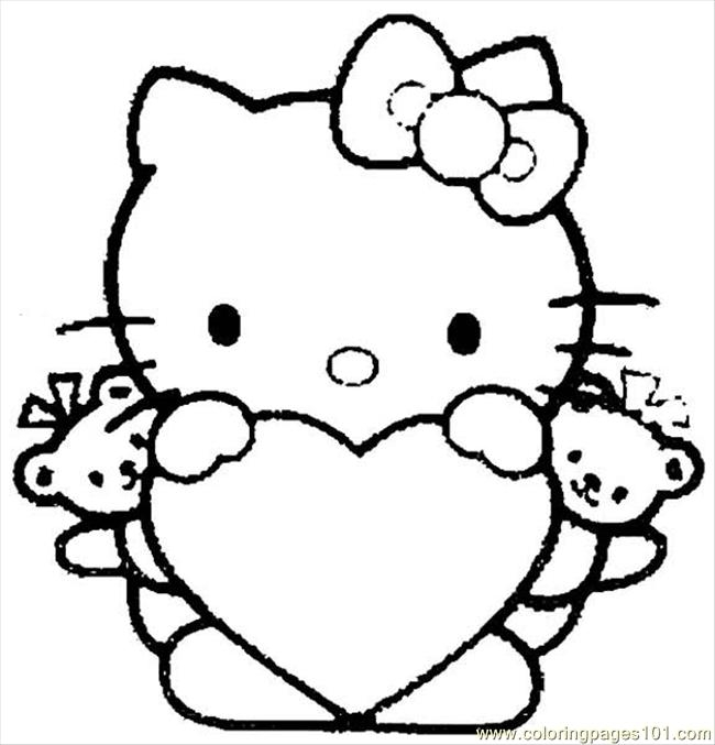 650x677 Coloring Pages To Print Free Print Hello Kitty Coloring Pages