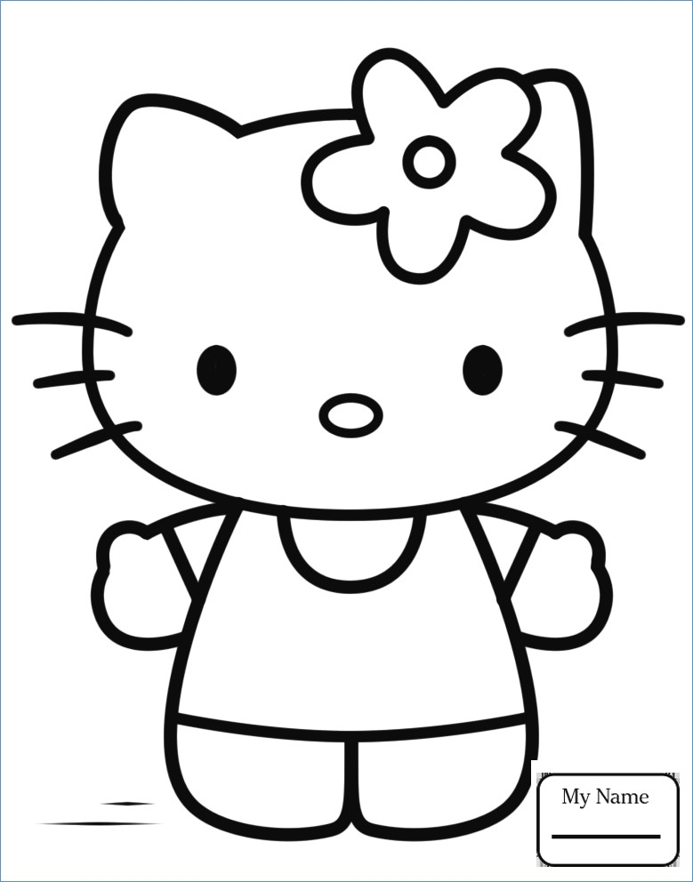 779x992 Hello Kitty Cute Ballerina Coloring Pages