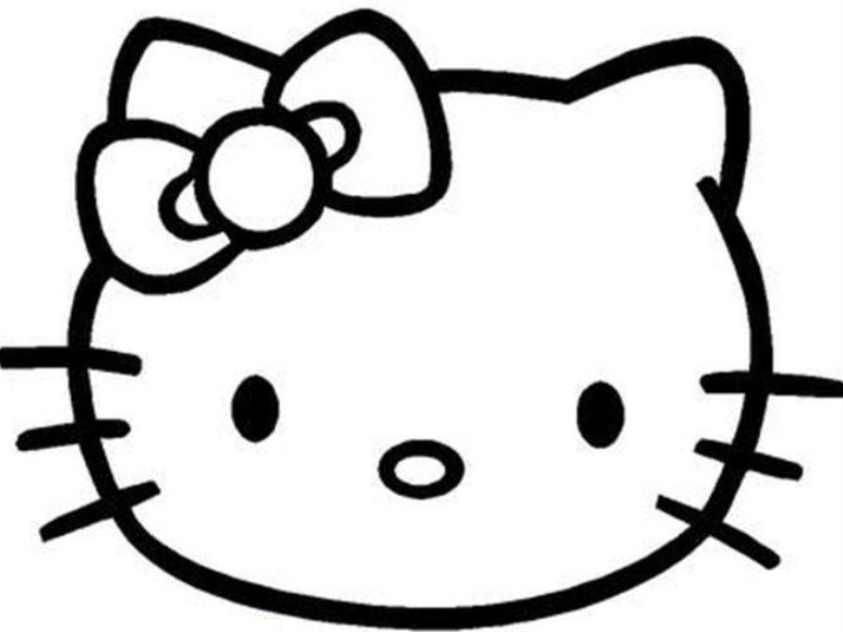 773x580 Hello Kitty Painting Free Coloring Page Cartoon Pages Bebo Pandco
