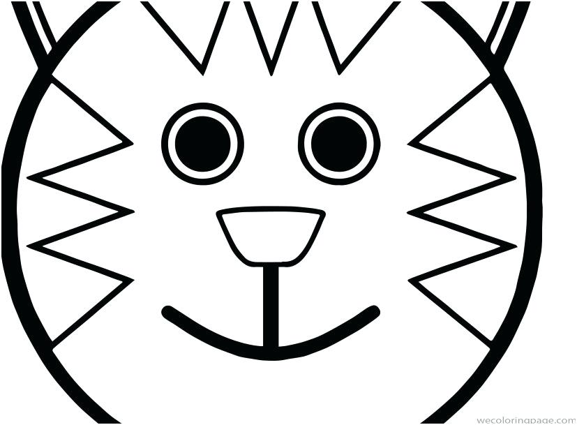 827x609 Cartoon Cat Coloring Pages Coloring Pages Of Faces Pictures Best