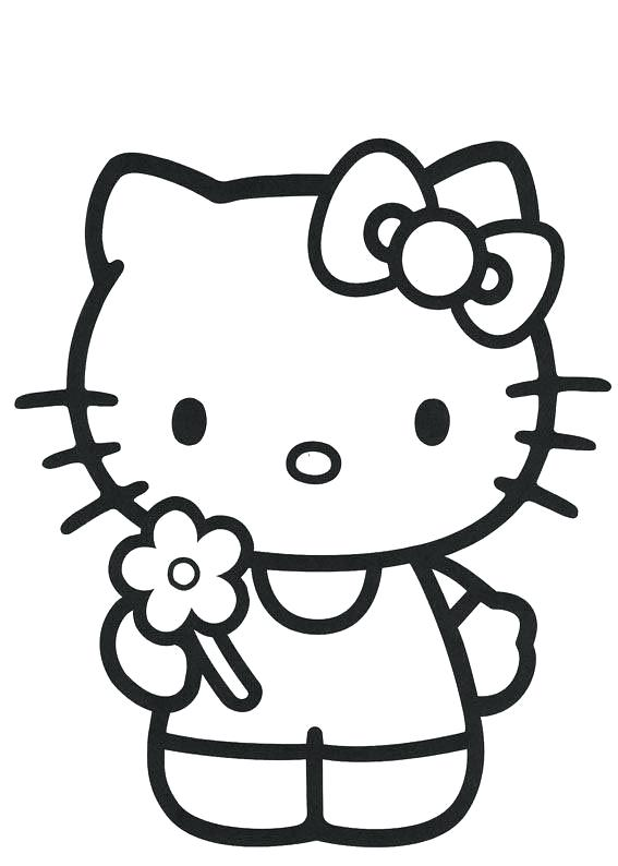 567x794 Hello Kitty Christmas Coloring Pages Imprimir En Letra Gratis