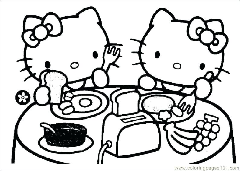 794x567 Hello Kitty Coloring Pages To Download And Print For Free Hello