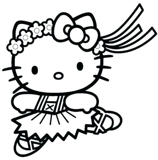 530x539 Hello Kitty Printable Coloring Page Hello Kitty Coloring Page Cute