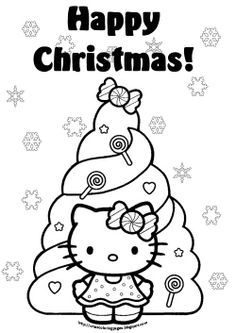236x333 Interactive Magazine Hello Kitty Christmas Coloring Sheets