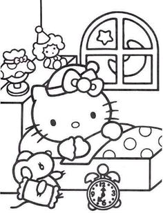 236x309 Hello Kitty Coloring Pages To Print Printables