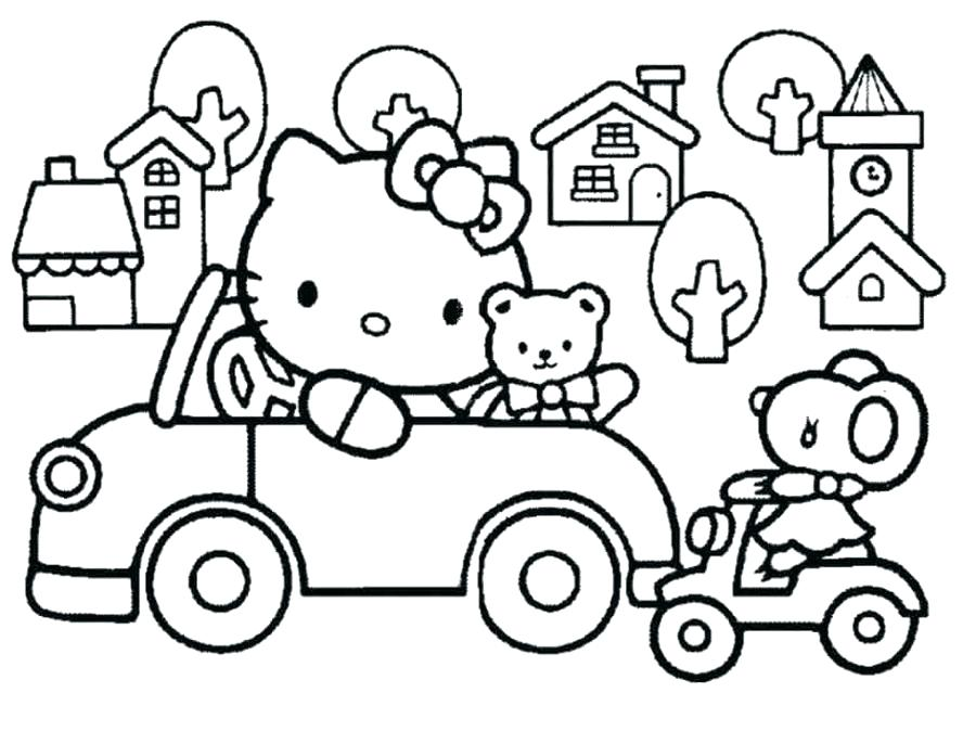 900x674 Hello Kitty Coloring Page Hello Coloring Page Kitty Coloring Pages