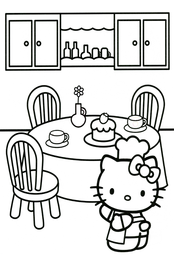 567x850 Hello Kitty Coloring Pages Overview With A Lot Of Kitties