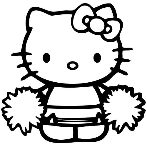 500x500 Plain Hello Kitty Coloring Pages Games All Different Article