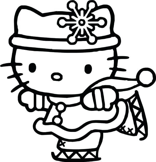 600x624 Free Printable Coloring Pages Hello Kitty Printable Hello Kitty
