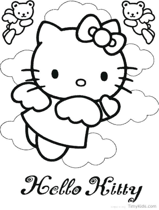 624x824 Kitty Color Pages Hello Kitty Coloring Pages Online Hello Kitty