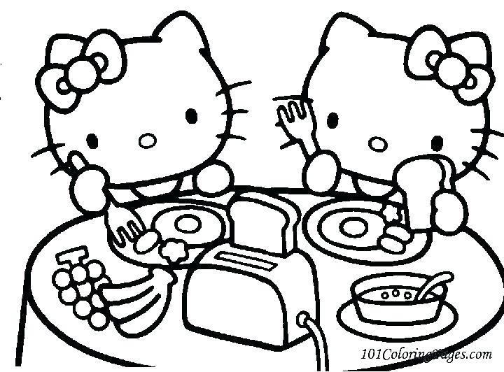 720x532 Hello Kitty Coloring Pages Online Awesome Hello Kitty Printable
