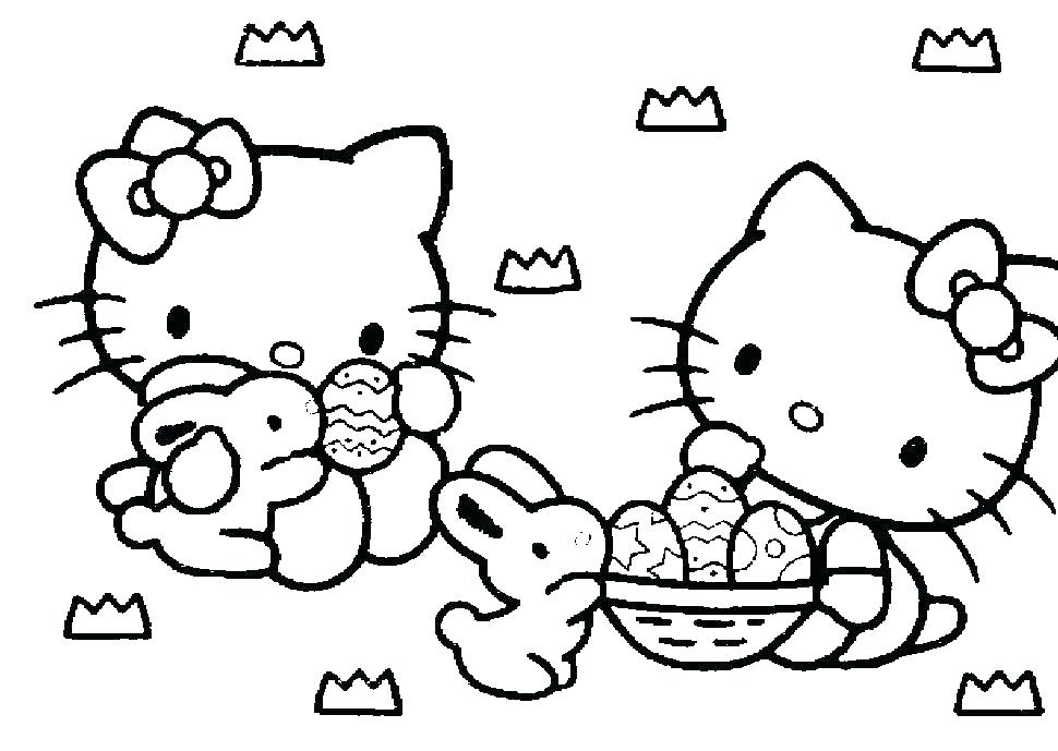 970x689 Kitty Coloring Page Hello Kitty Coloring Pages Series Coloring
