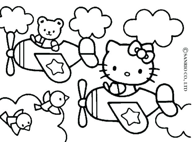 620x458 Coloring Pages Online To Print Kitty Coloring Page Hello Kitty